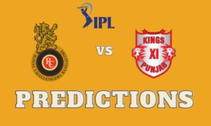 RCB vs KXIP IPL Prediction